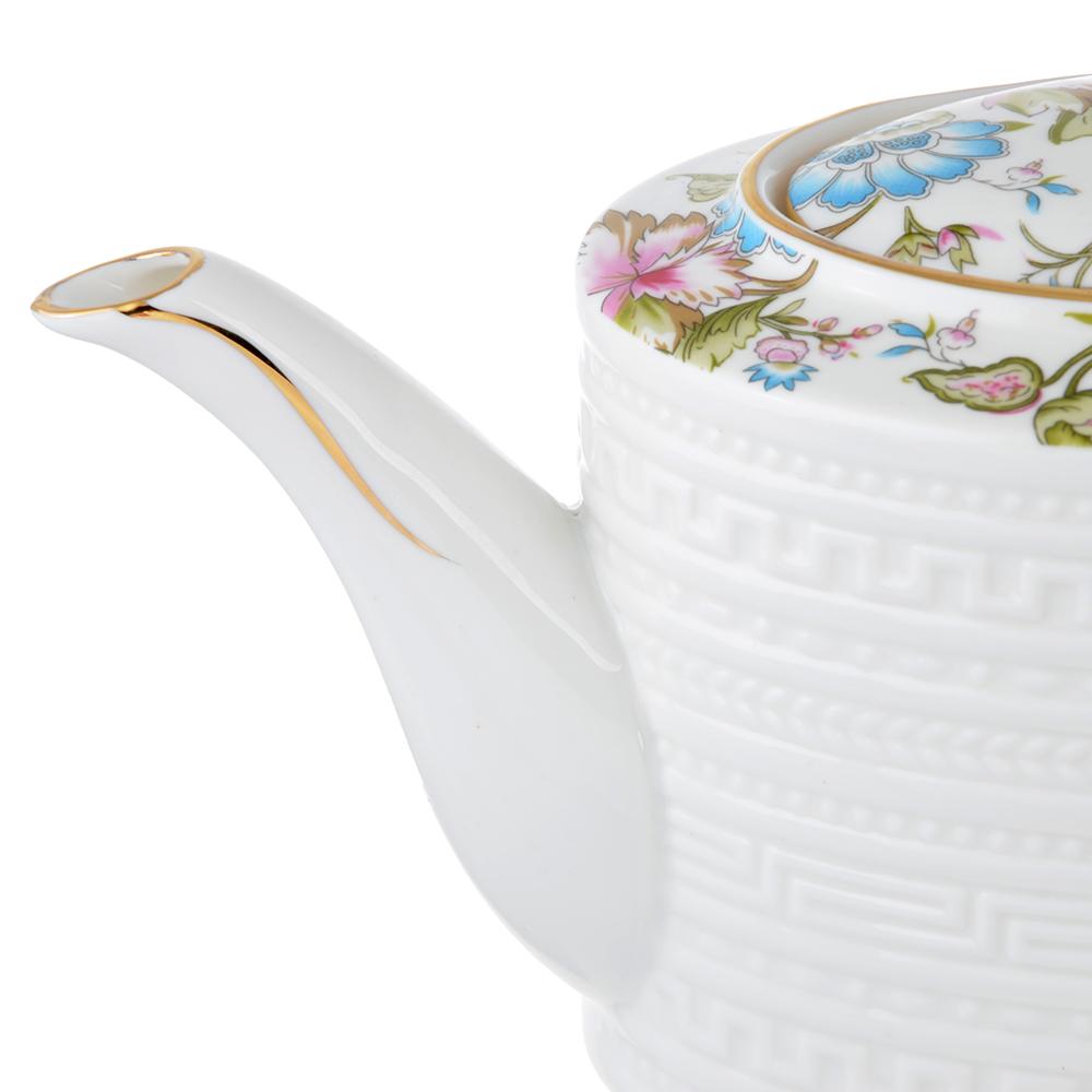 Чайник заварочный MILLIMI Вальс 1150мл, костяной фарфор - 2