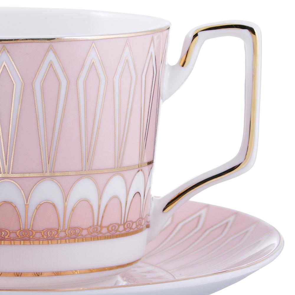 Чайный сервиз 4 предмета MILLIMI Восторг 260мл, костяной фарфор - 2