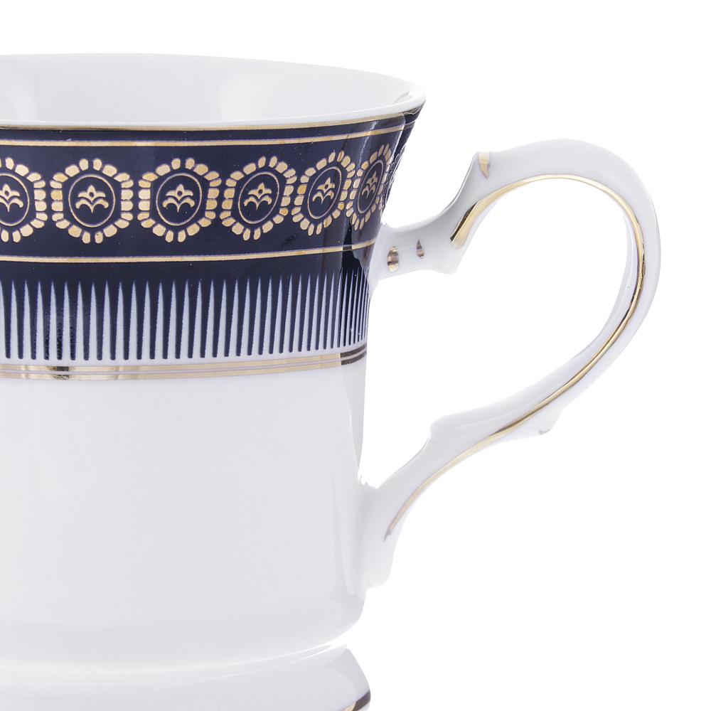 Набор кофейных кружек 2 предмета MILLIMI Адмирал 200мл, костяной фарфор - 2