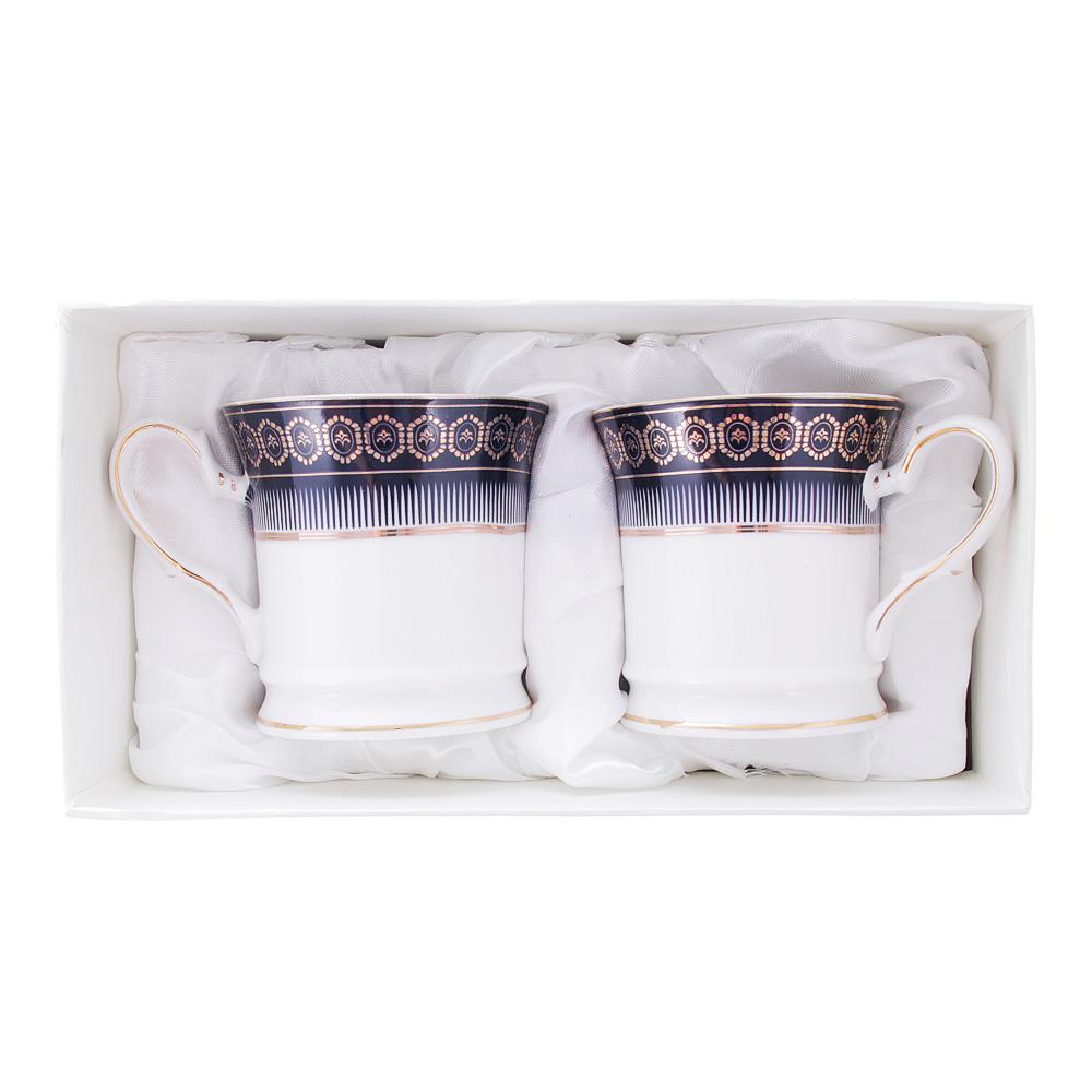 Набор кофейных кружек 2 предмета MILLIMI Адмирал 200мл, костяной фарфор - 3
