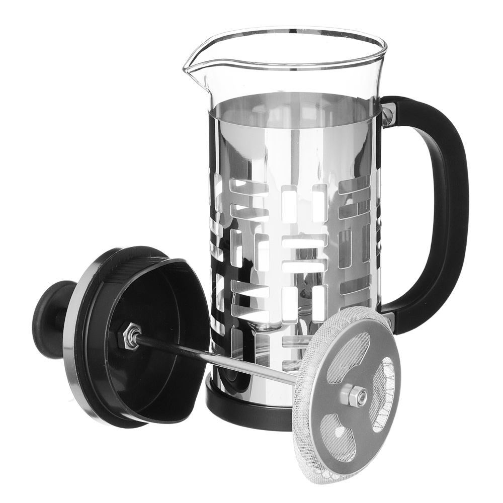 VETTA Делайн Френч-пресс 350мл, жаропрочное стекло, нерж.сталь - 3