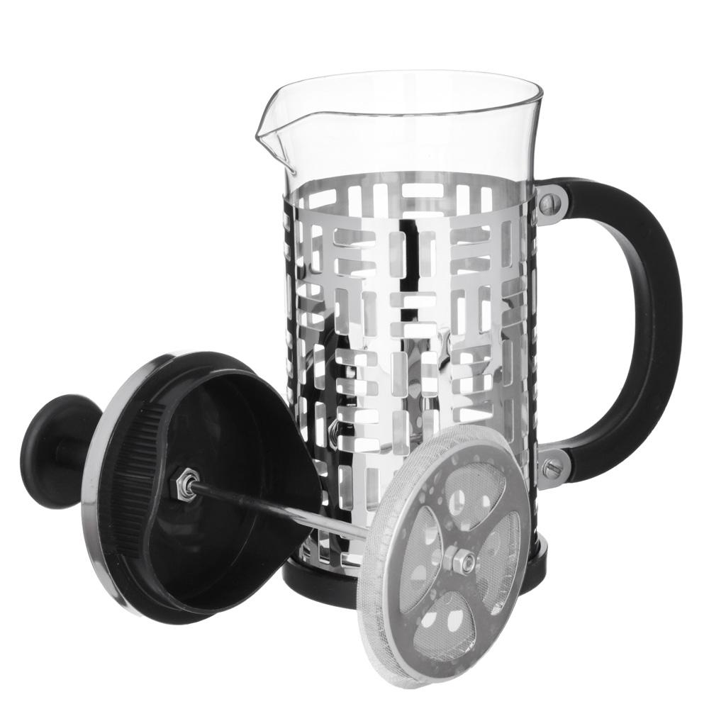 VETTA Делайн Френч-пресс 600мл, жаропрочное стекло, нерж.сталь - 3