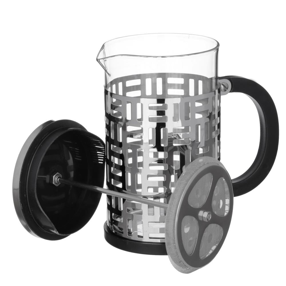 VETTA Делайн Френч-пресс 800мл, жаропрочное стекло, нерж.сталь - 3