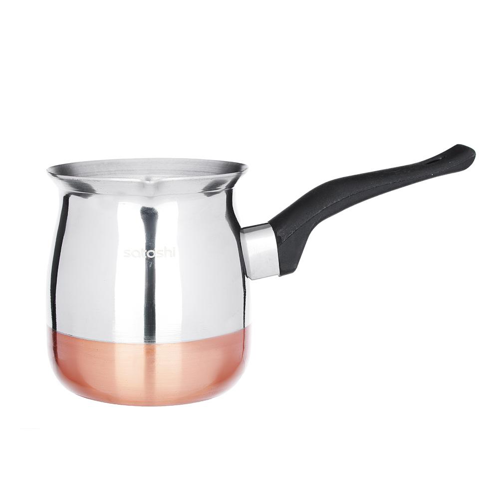 SATOSHI Турка для кофе, 650мл, нерж.сталь, дно с медным покрытием - 2