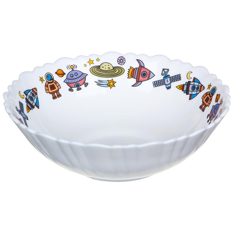 MILLIMI Бабуся Ягуся Тарелка суповая 15см, опаловое стекло - 2