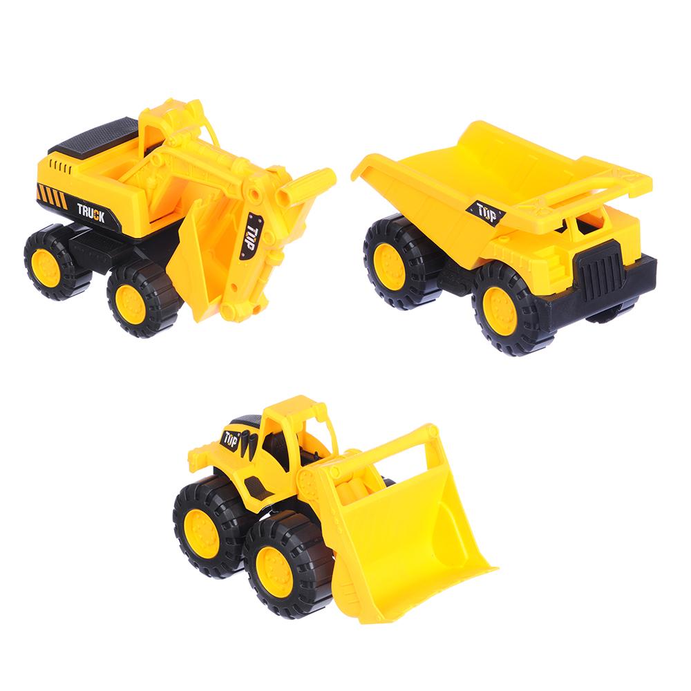 ИГРОЛЕНД Машина в виде строительной техники, ABS, 10х10х19см, 3 дизайна - 2