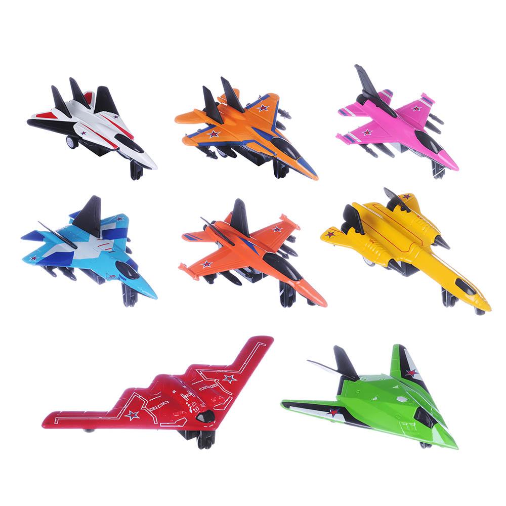 ИГРОЛЕНД Истребитель Кондор, металл, 12х6,5х3,5см, 8 дизайнов - 2