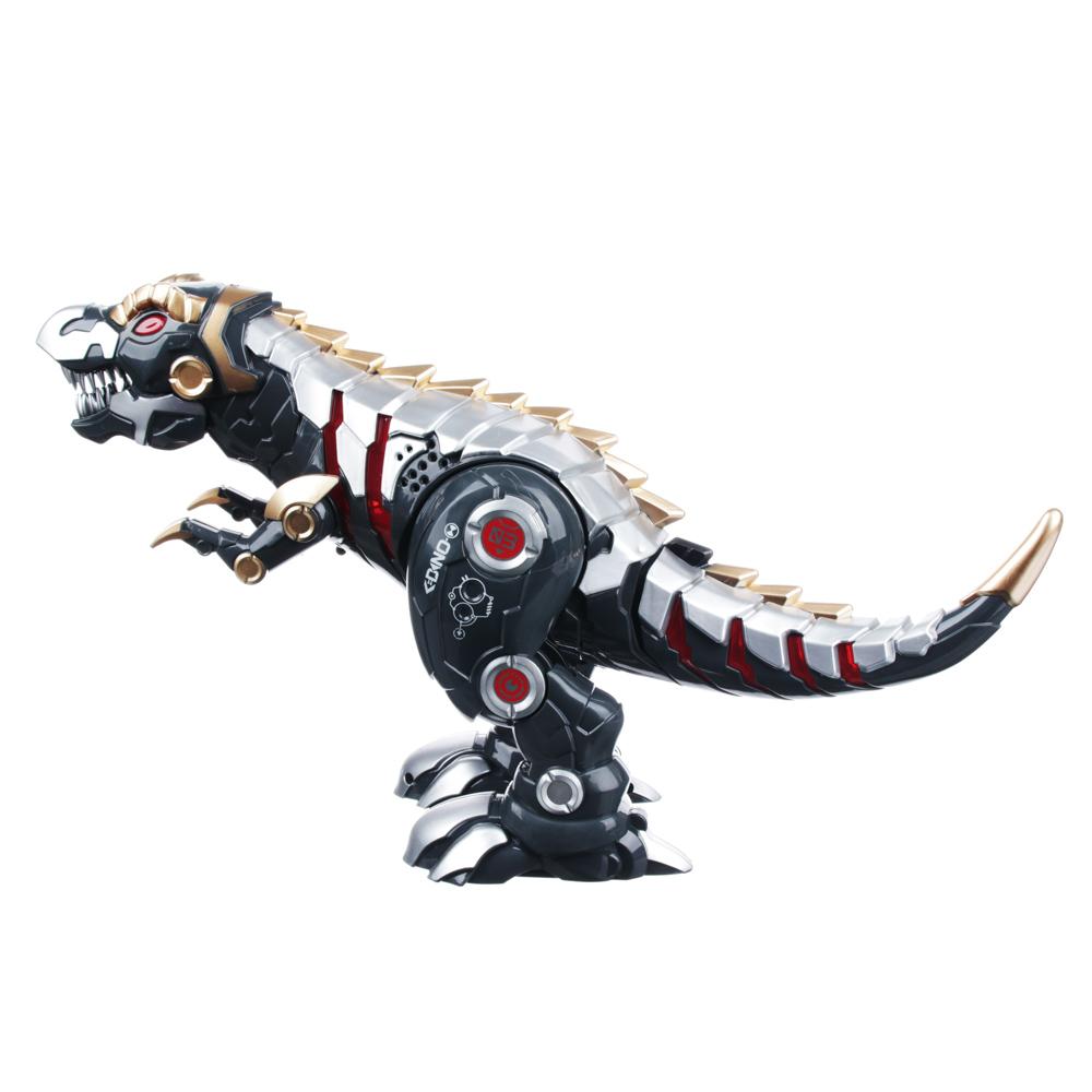 ИГРОЛЕНД Робот-динозавр на пульте упр., ИК, свет, звук, движ., 5ААА, ABS, 33х17х30см - 3