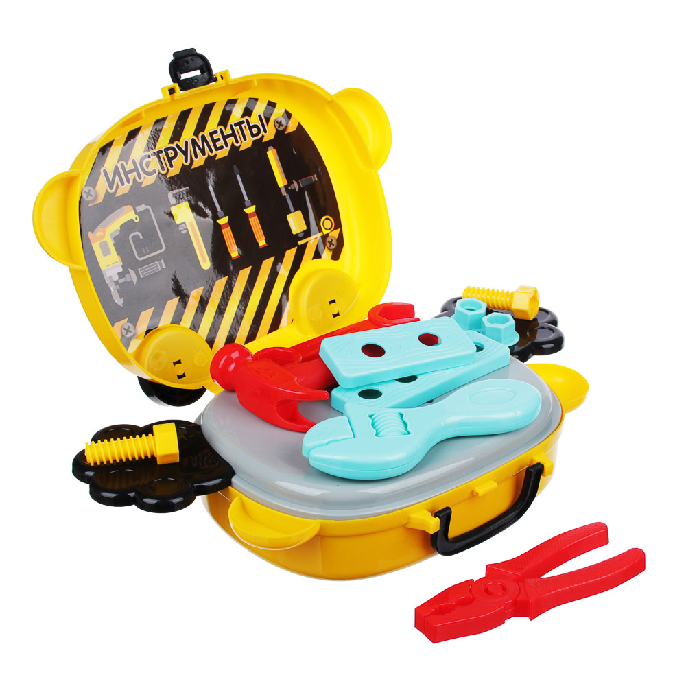 ИГРОЛЕНД Игровой набор в чемодане, 9-17 пр., пластик, 22х15,7х7,2см, 5 дизайнов - 3