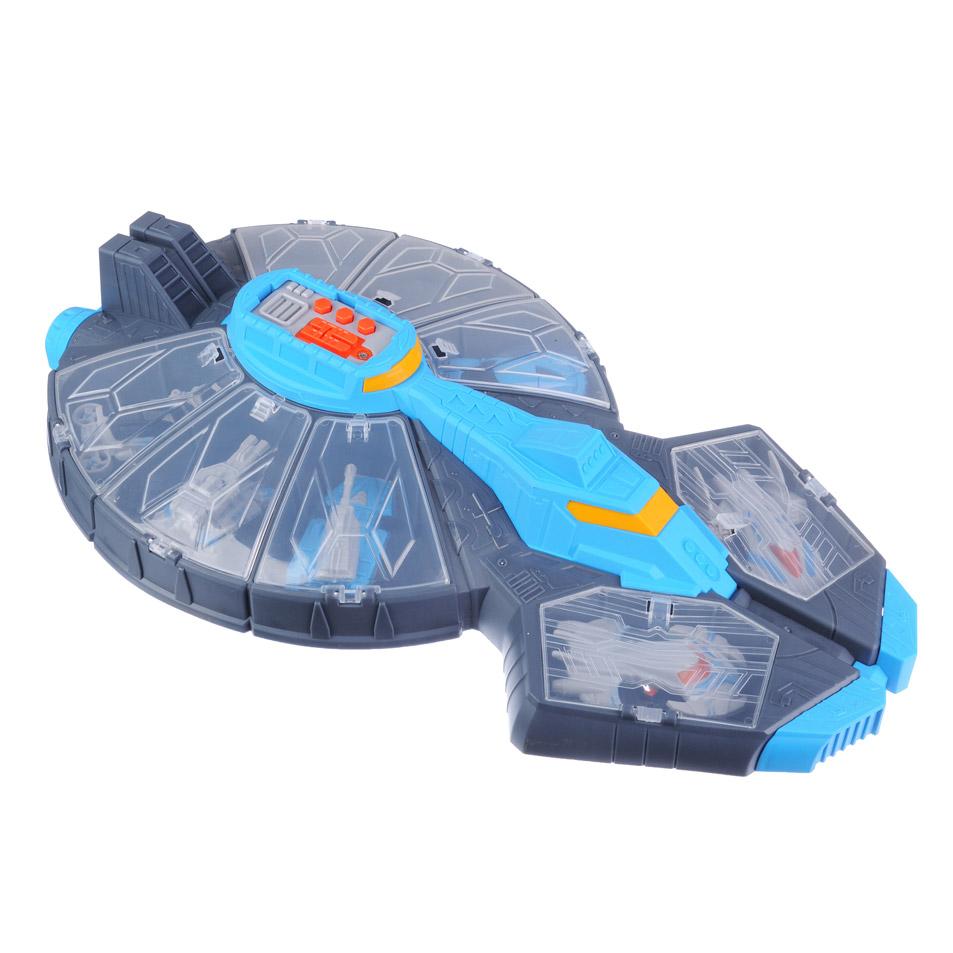 ИГРОЛЕНД Межпланетная станция  с боевым отрядом, звук, 3AG13, пластик, 24х41,5х8см - 2