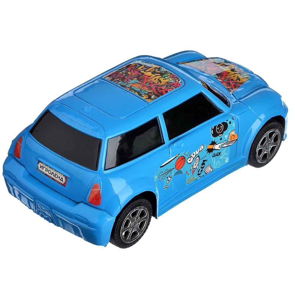 ИГРОЛЕНД Машина городская, инерция, пластик, 17х8х6см, 3 цвета - 5