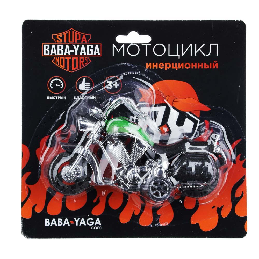BY Мотоцикл, инерция, пластик, 12х6,5х4,5см, 2 дизайна - 4
