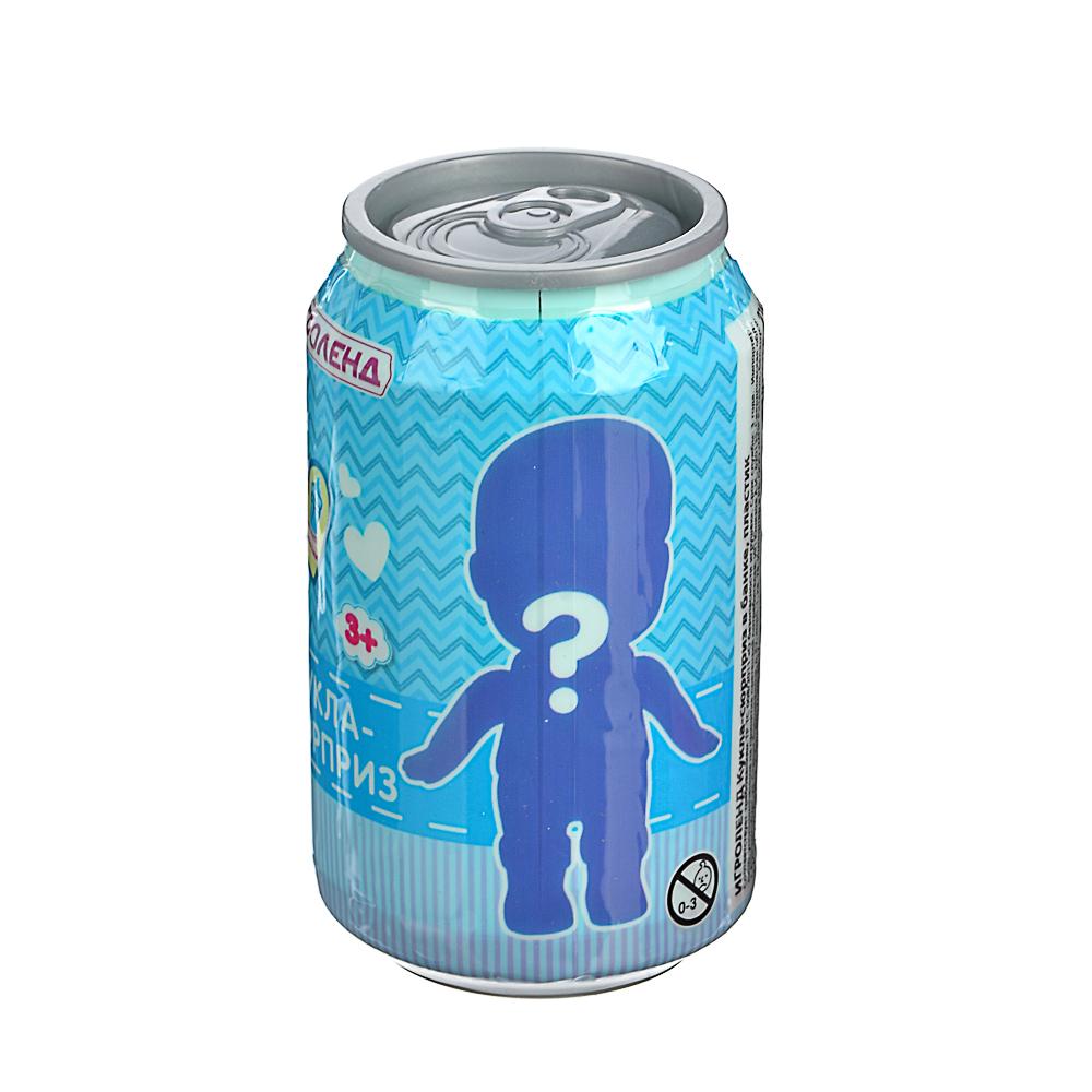 ИГРОЛЕНД Кукла-сюрприз в банке, пластик, 6,3х11см, 6-12 дизайнов - 4