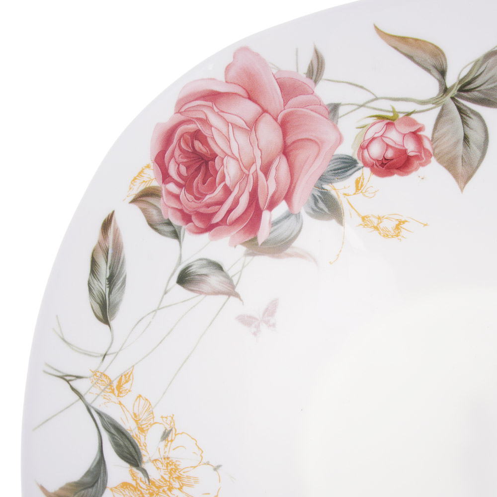 MILLIMI Анета Салатник, опаловое стекло 24см, квадратная форма, 19019 - 3