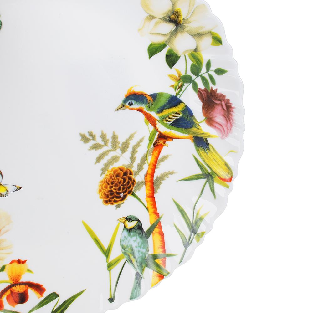 MILLIMI Рио Тарелка десертная опаловое стекло 21,5см, 16194A - 2