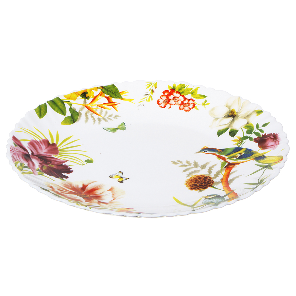 MILLIMI Рио Тарелка десертная опаловое стекло 21,5см, 16194A - 3