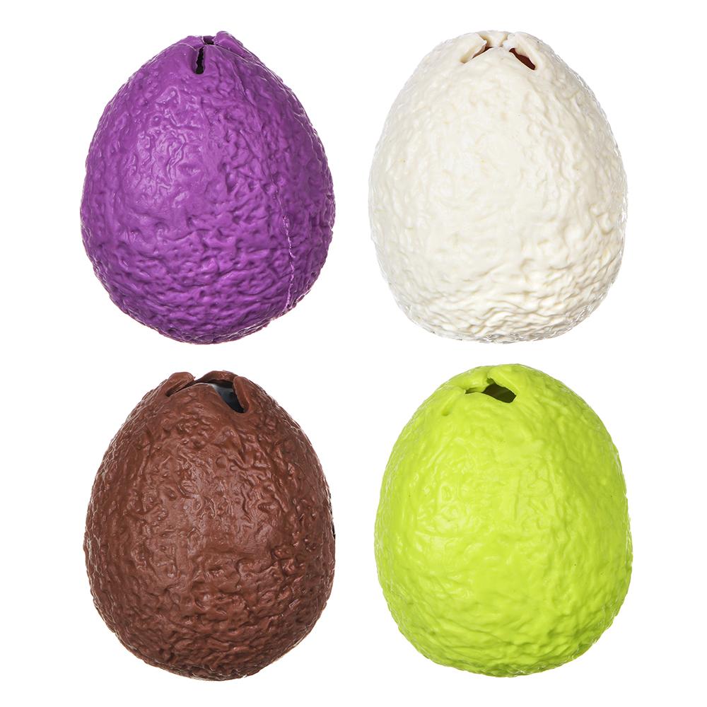 LASTIKS Яйцо резиновое с фигуркой внутри, резина, 6,5см, 4 дизайна - 2