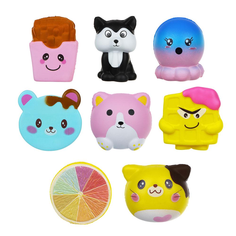 """LASTIKS Мялка """"Сквиш милые животные"""", с ароматом, 8-12см, полиуретан, 6-12 дизайнов - 2"""