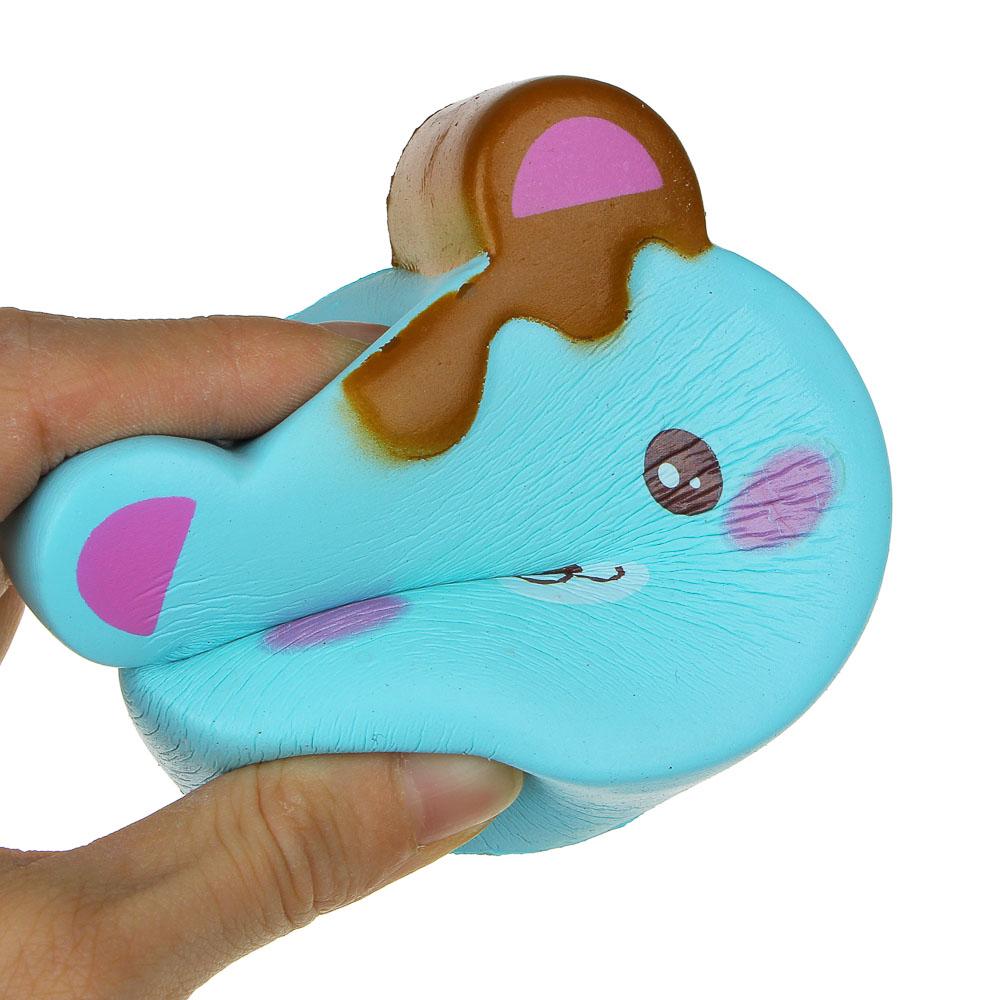"""LASTIKS Мялка """"Сквиш милые животные"""", с ароматом, 8-12см, полиуретан, 6-12 дизайнов - 5"""