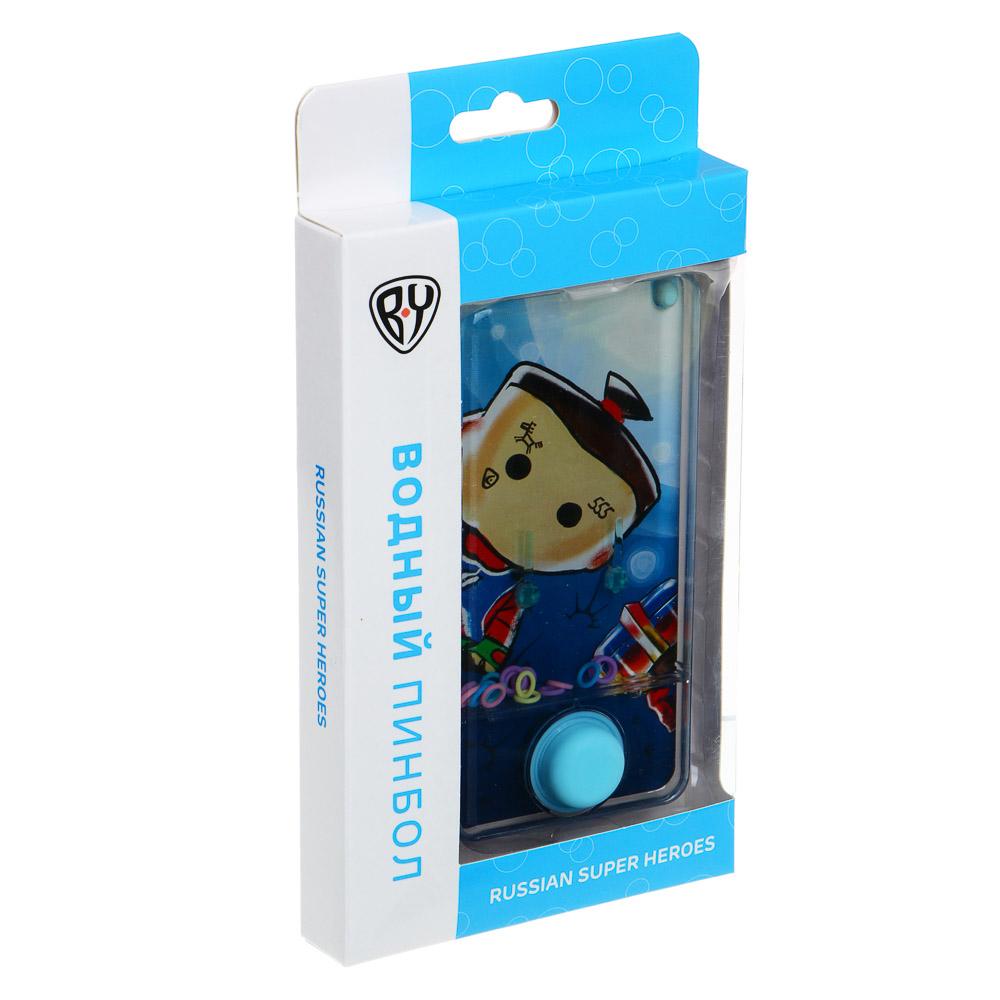 BY Пинбол водный в виде смартфона, пластик, 13,5х6,5см, 1-3 дизайна - 3