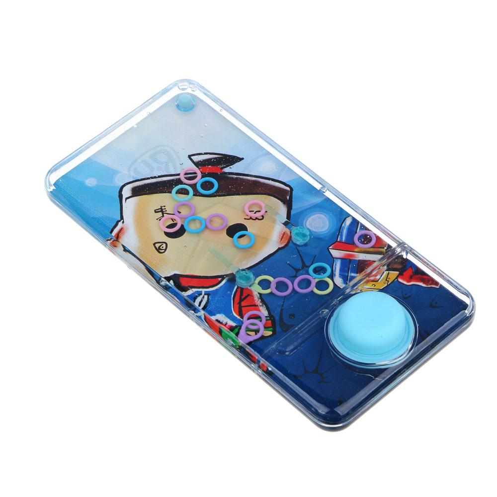 BY Пинбол водный в виде смартфона, пластик, 13,5х6,5см, 1-3 дизайна - 4