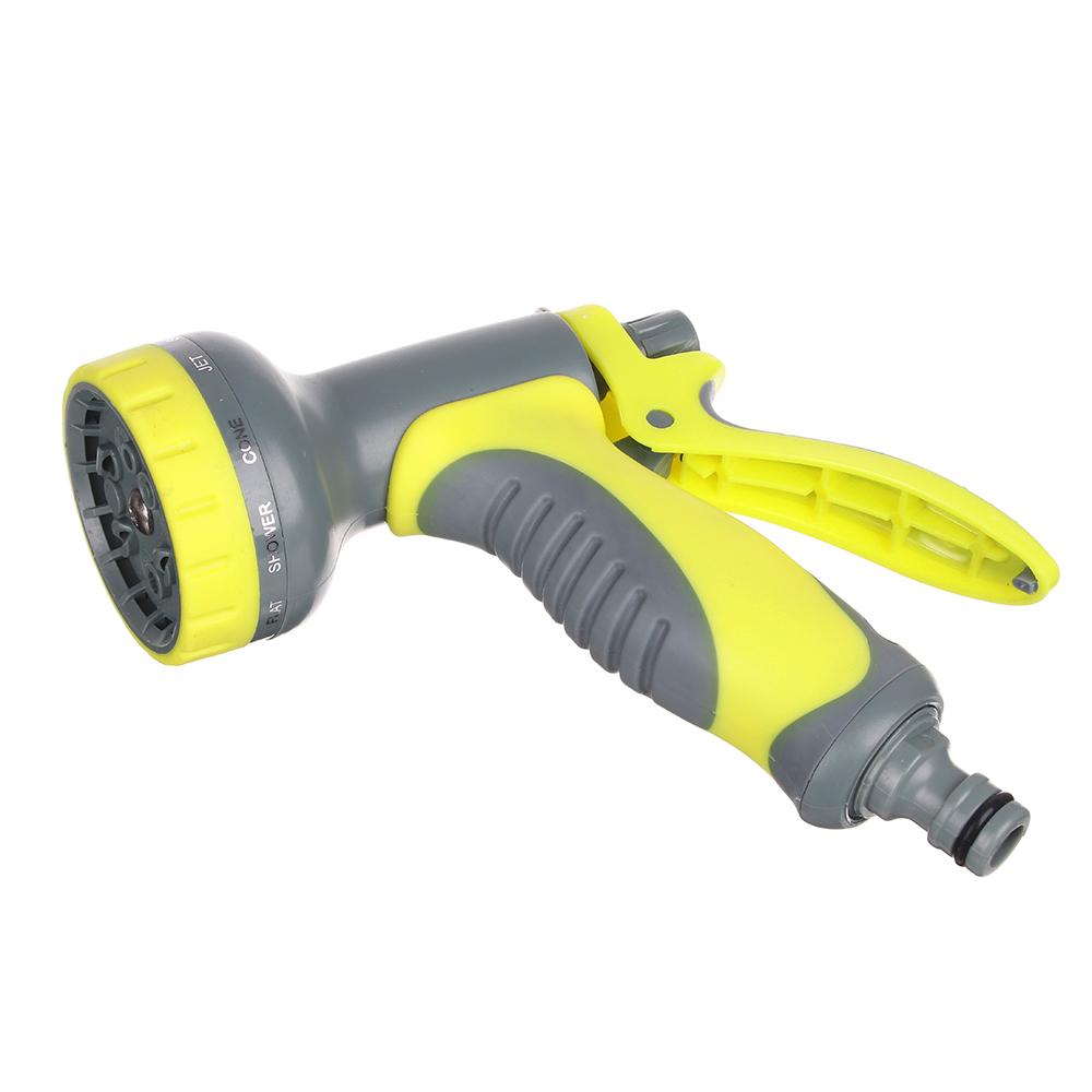 INBLOOM Пистолет-разбрызгиватель, 10 режимов, эргономичная ручка, нейлон, пластик - 2
