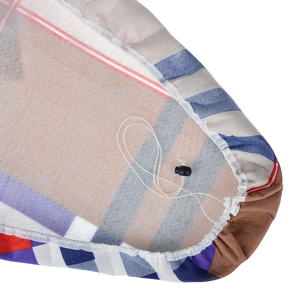 VETTA Чехол для гладильной доски на шнурке, полиэстер, подкладка хлопок, 140х58см - 3