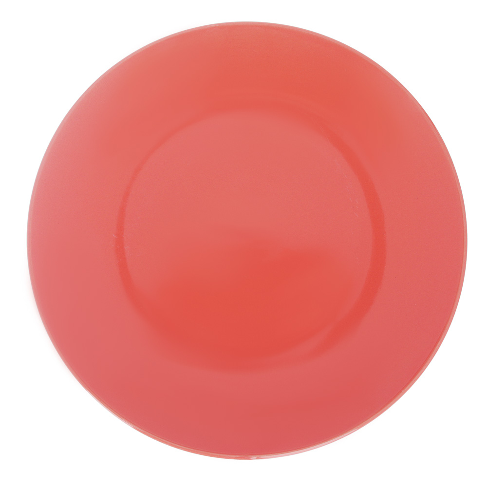 Глянец Тарелка десертная, 20х2,3см, керамика, 3 цвета - 2