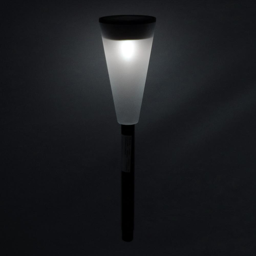 INBLOOM Фонарь садовый на солнечной батарее, 6,7х27,8см, 1LED,белый, пластик - 4