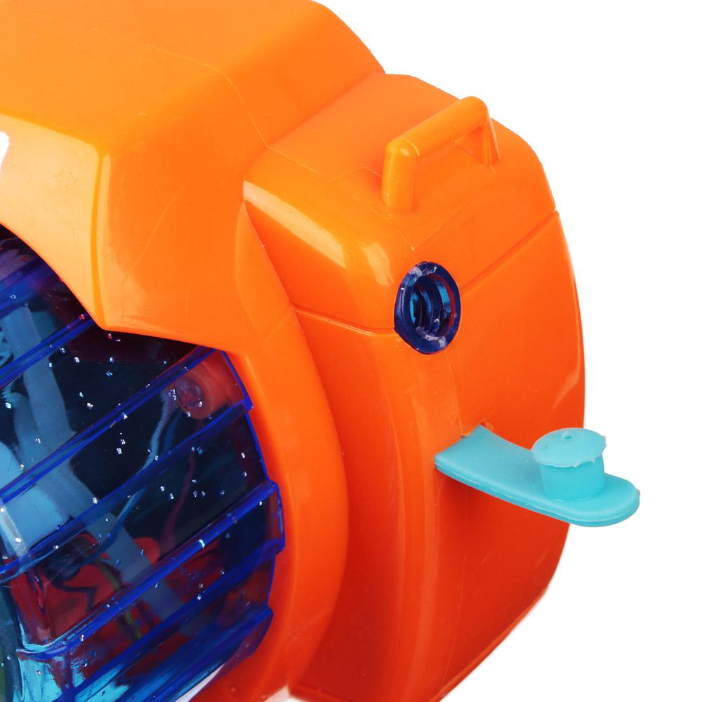 ИГРОЛЕНД Фотокамера Машина для мыл.пуз., 3хАА, с мыл-м раствр. 100 мл., ABS, 9,5х14х9,5см - 6
