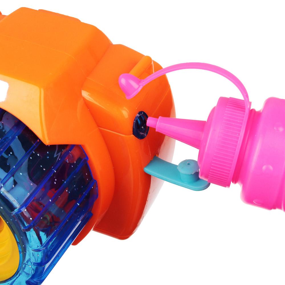 ИГРОЛЕНД Фотокамера Машина для мыл.пуз., 3хАА, с мыл-м раствр. 100 мл., ABS, 9,5х14х9,5см - 7