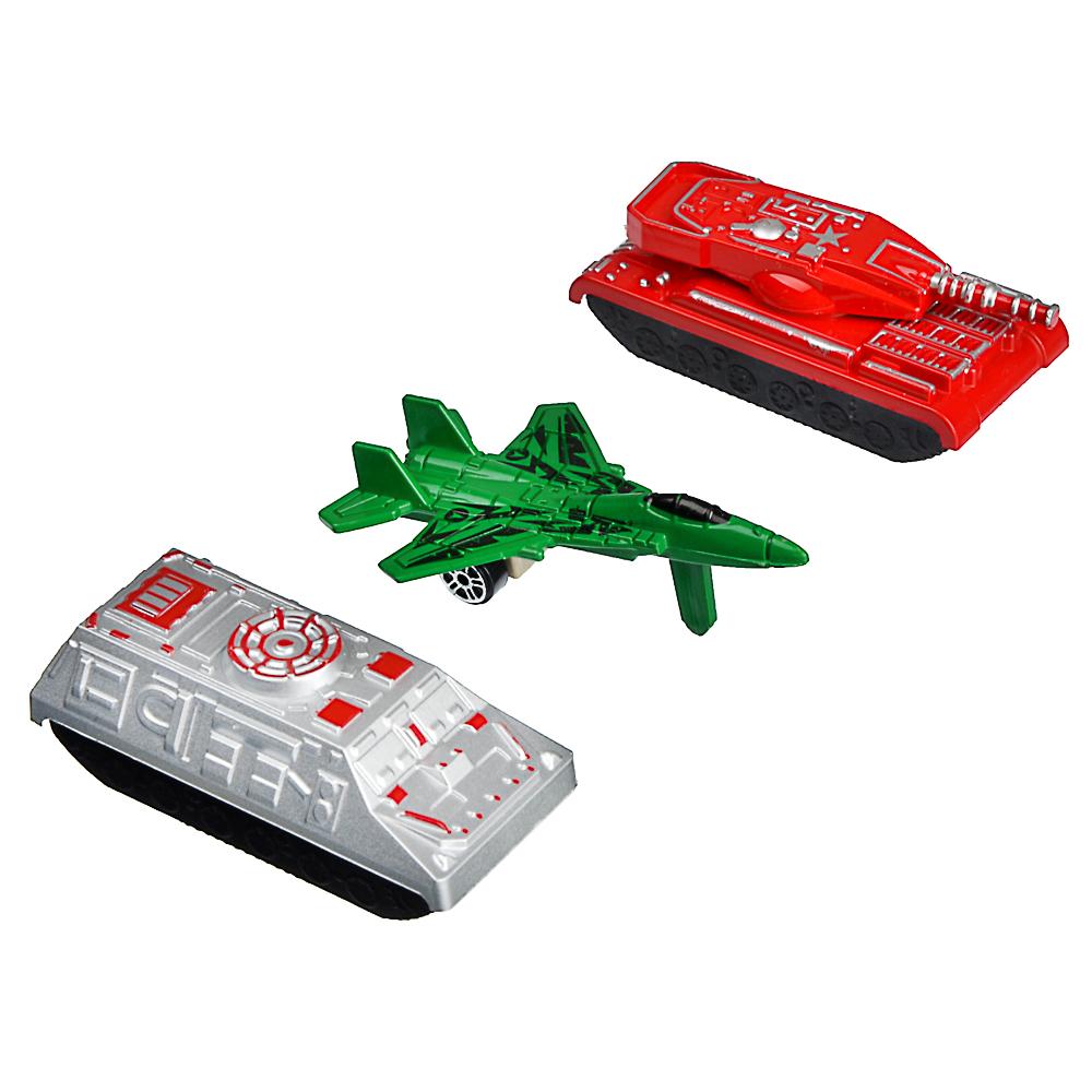 Игрушка в виде военной техники, пластик, 10х5х1см, 3 дизайна - 2