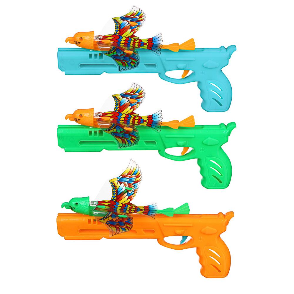 ИГРОЛЕНД Запускалка светящаяся в виде птицы, PP, PVC, 18,5х29х1см - 3