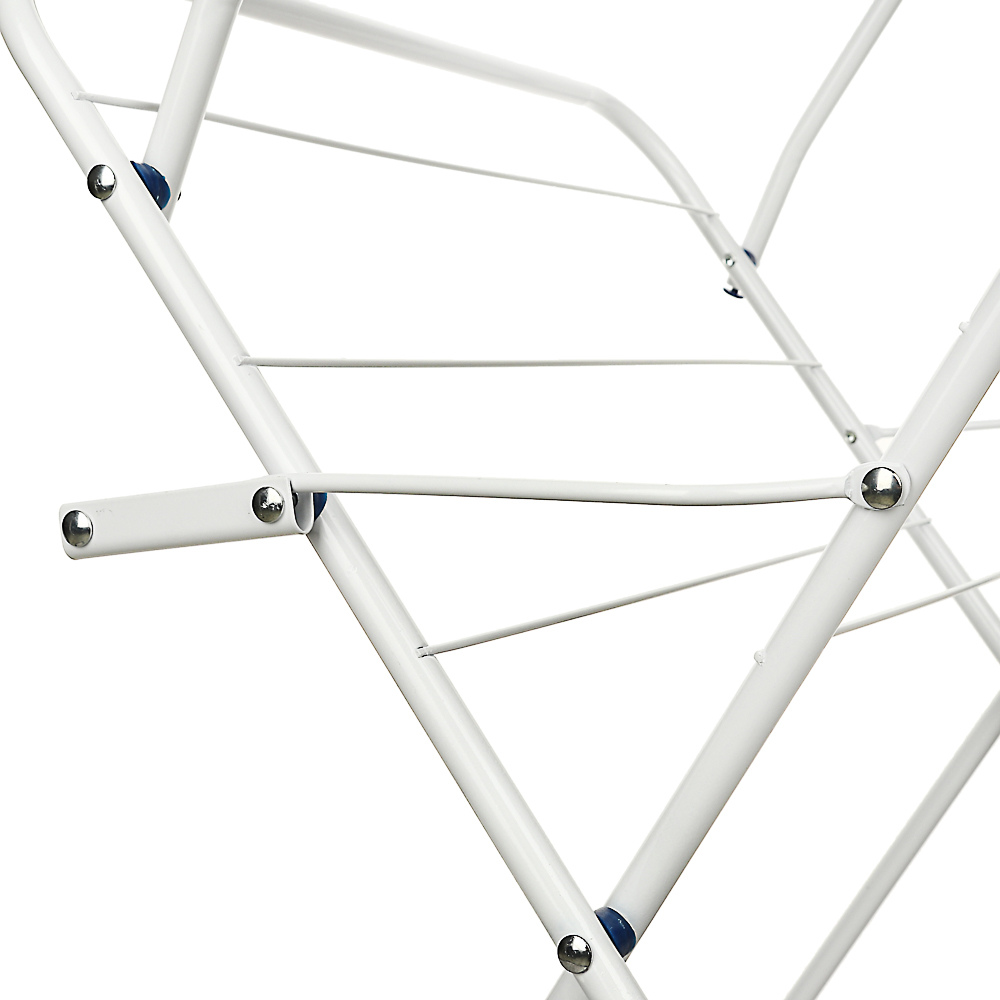 VETTA Сушилка для белья напольная, вертикальная, окрашенная сталь, 44х47х129 см - 2