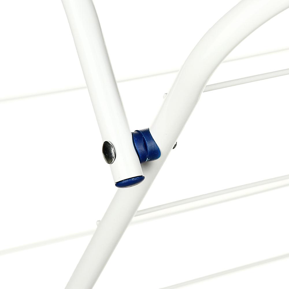 VETTA Сушилка для белья напольная, вертикальная, окрашенная сталь, 44х47х129 см - 4