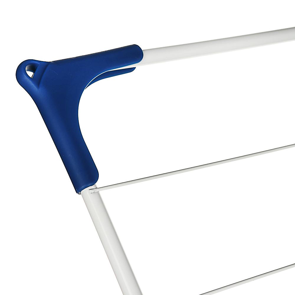 VETTA Сушилка для белья напольная, вертикальная, окрашенная сталь, 44х47х129 см - 6