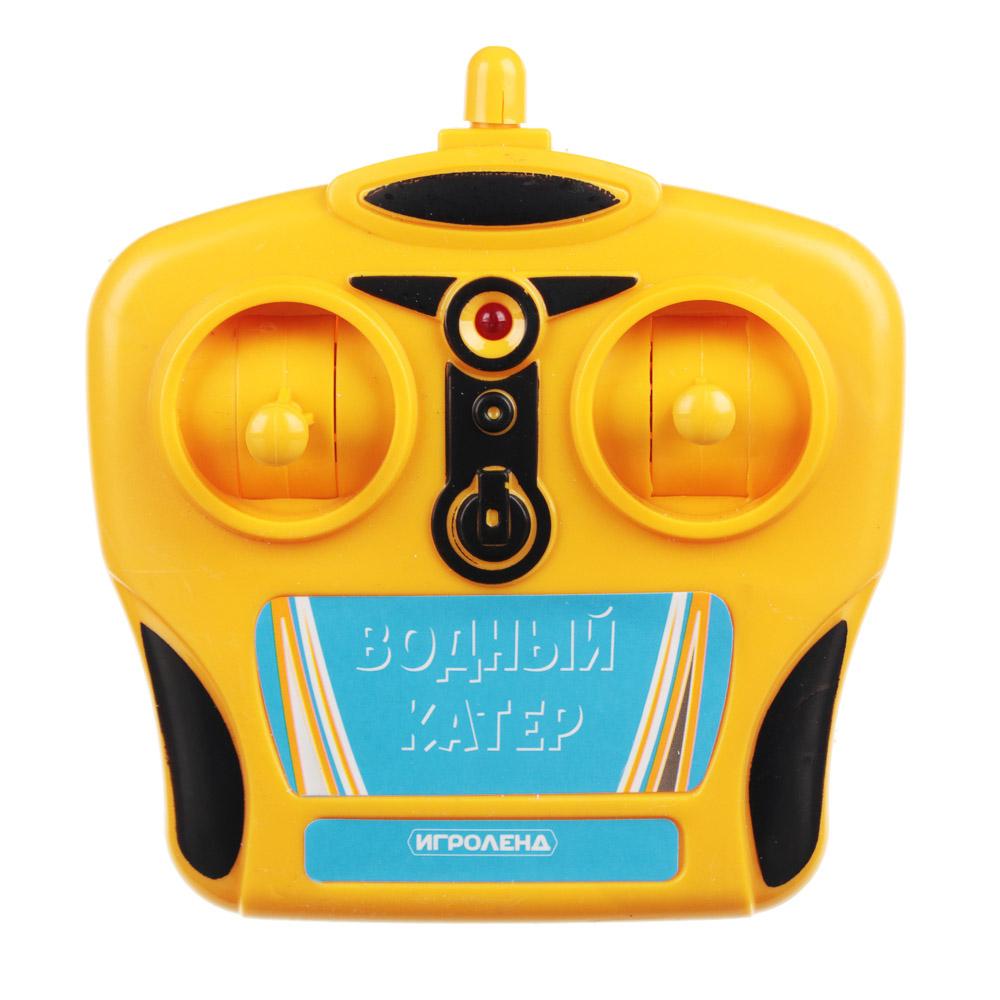 ИГРОЛЕНД Катер на радиоуправлении, 27 МГц, 5АА, РР, 34x15x15см, 2 дизайна - 4