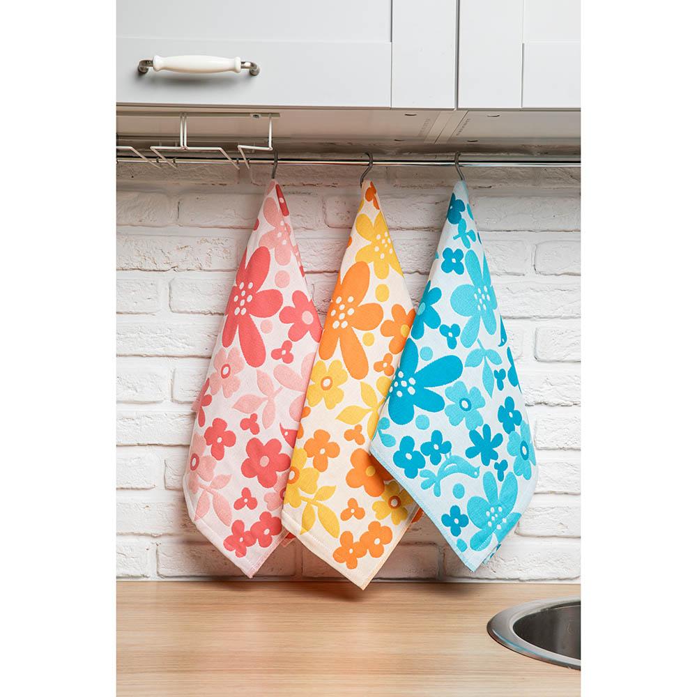 "PROVANCE Полотенце кухонное, 100% хлопок, 34х73см, ""Краски"", 6 дизайнов - 2"