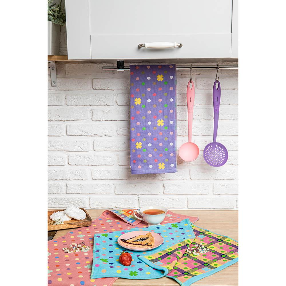 "PROVANCE Полотенце кухонное, 100% хлопок, 34х73см, ""Краски"", 6 дизайнов - 5"