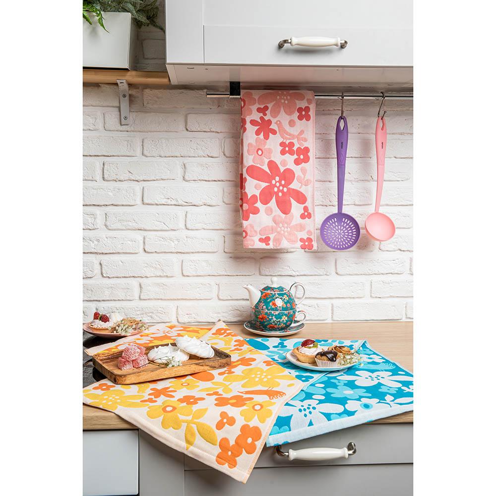 "PROVANCE Полотенце кухонное, 100% хлопок, 34х73см, ""Краски"", 6 дизайнов - 6"