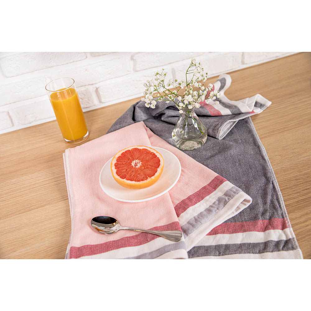 "PROVANCE Полотенце кухонное, 100% хлопок, 34х72см, ""Баланс"", 4 дизайна - 5"