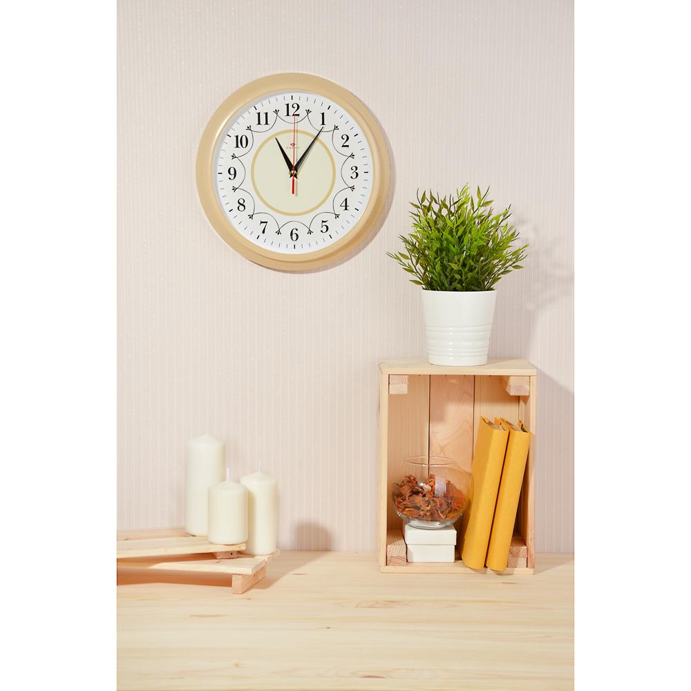 LADECOR CHRONO Часы настенные круглые, d30см, пластик, 3 дизайна - 2