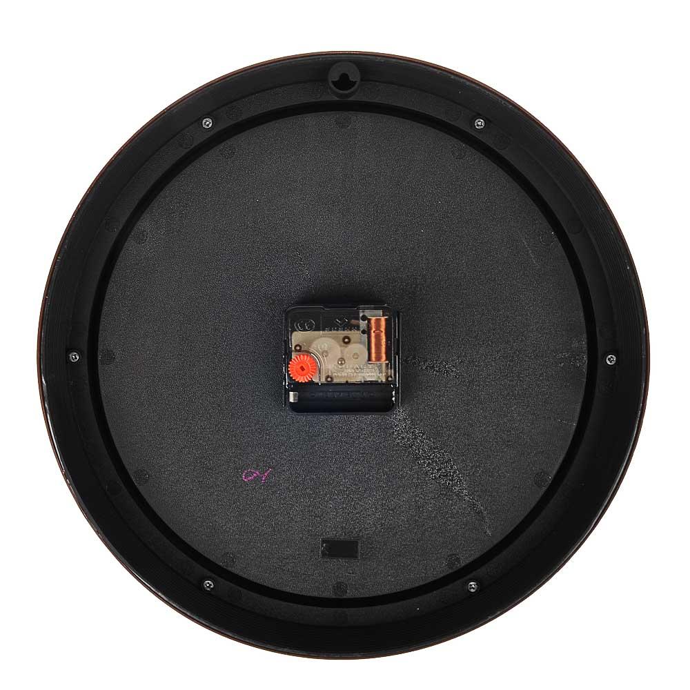 LADECOR CHRONO Часы настенные круглые, d30см, пластик, 3 дизайна - 5