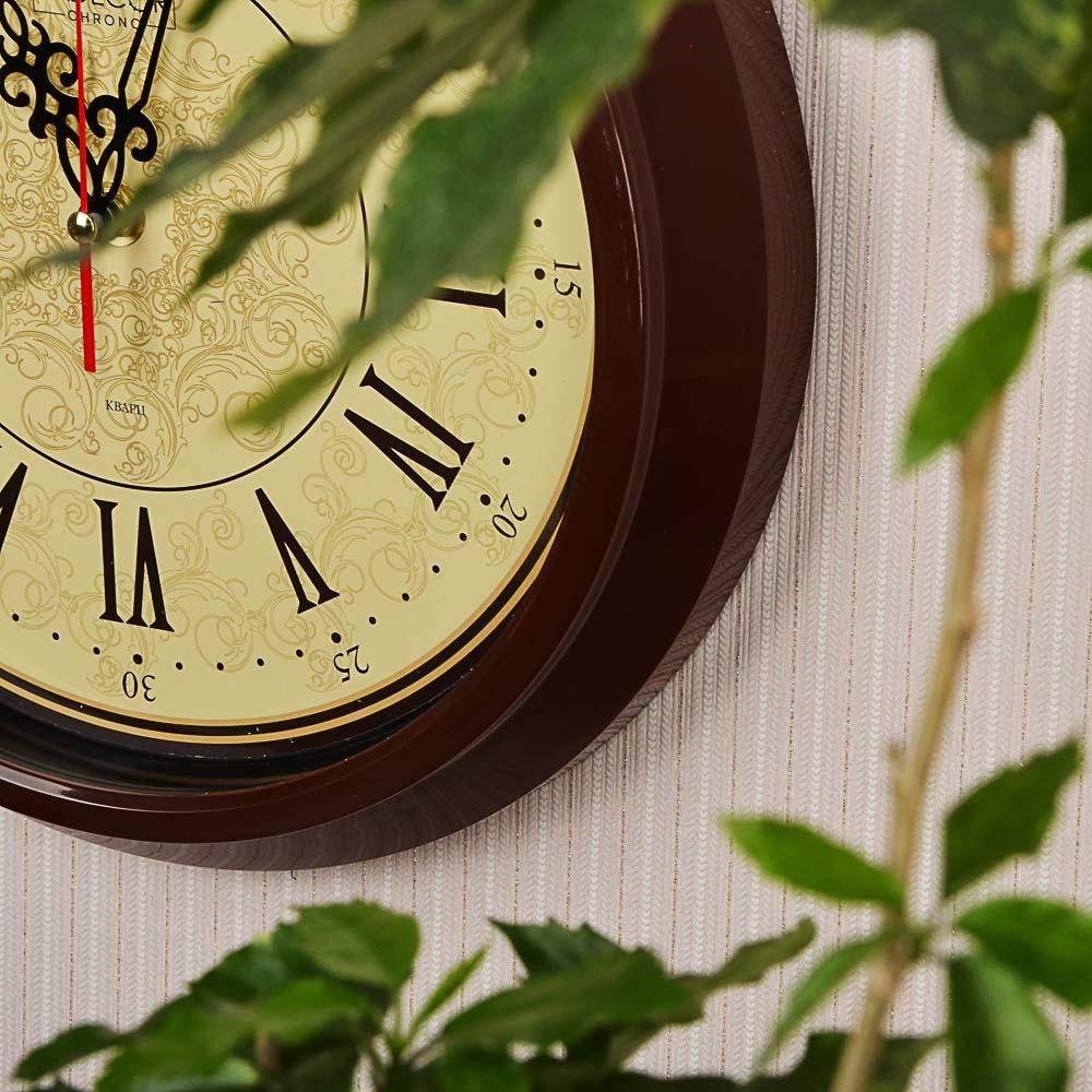 LADECOR CHRONO Часы настенные круглые, d30см, пластик, 3 дизайна - 8