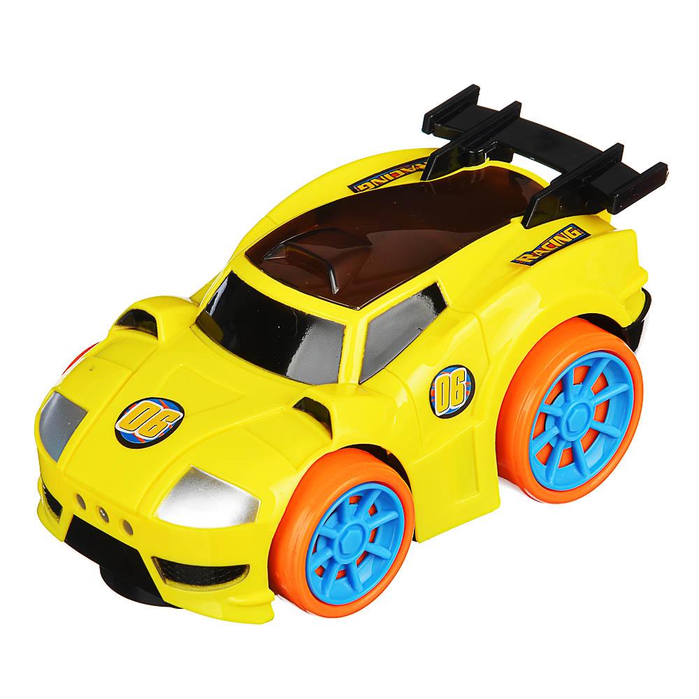 ИГРОЛЕНД Машинка музыкальная, свет, звук, движение, 3АА, ABS, 8,5х6х14,5см, 2 дизайна - 4