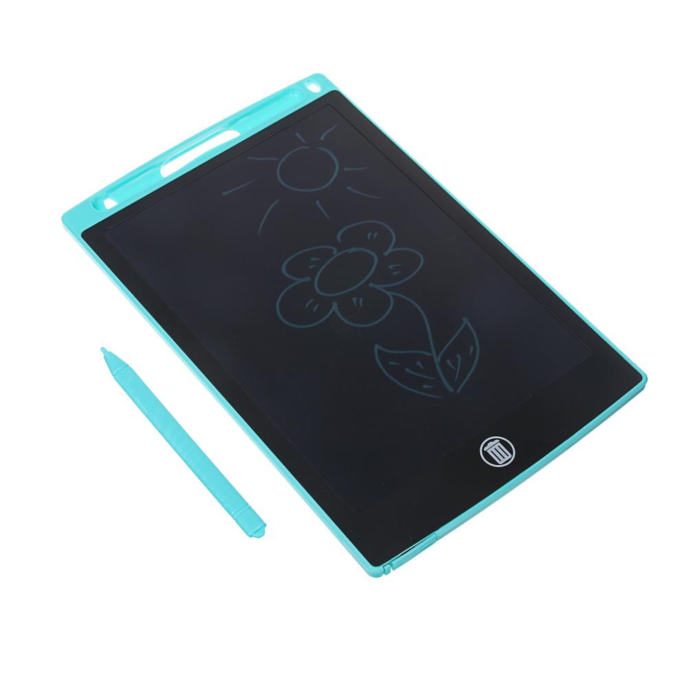 ХОББИХИТ Планшет для рисования LCD экран, 8,5 дюймов, пластик, 4 цвета - 3