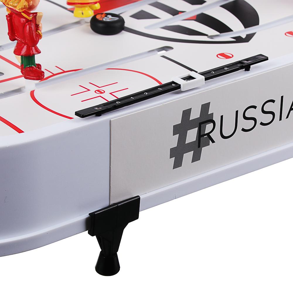 "BY Набор игровой ""Настольный хоккей"", PVC,ABS, металл, 58,5х35,5х8см - 6"