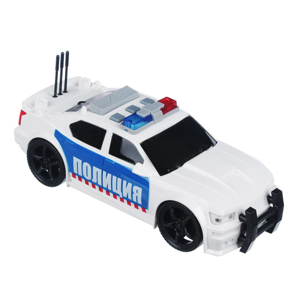 ИГРОЛЕНД Полицейский патруль, ABS, 3хLR44, свет, звук, инерция, 23,5х11х15,5см, 2 дизайна - 2