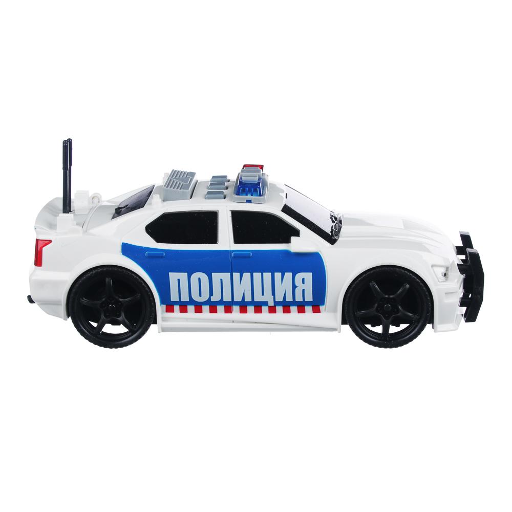 ИГРОЛЕНД Полицейский патруль, ABS, 3хLR44, свет, звук, инерция, 23,5х11х15,5см, 2 дизайна - 3