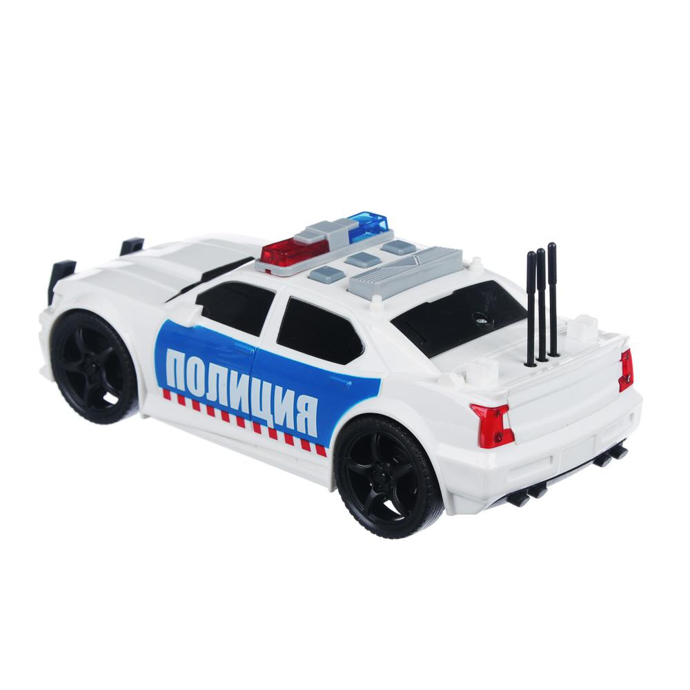 ИГРОЛЕНД Полицейский патруль, ABS, 3хLR44, свет, звук, инерция, 23,5х11х15,5см, 2 дизайна - 4